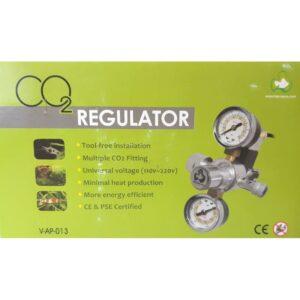 VAP013 CO2 Regulator Box Front at Rebel Pets