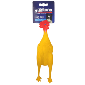 5290 Marltons Plucked Chicken Dog Toy at Rebel Pets