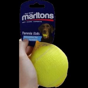56505 Tennis Balls Large at Rebel Pets