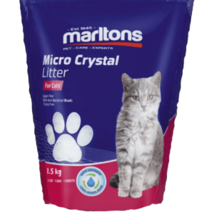 6210 Marltons Micro Cat Litter Crystals 1.5kg at Rebel Pets