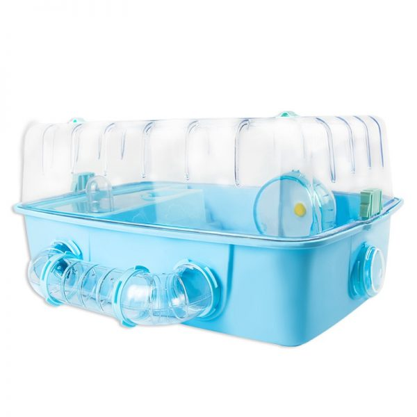 Plastic Hamster Cage - 51 x 42 x 24cm