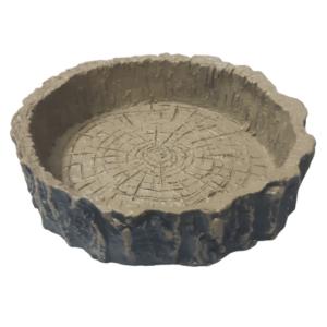 Reptile Log Water Bowl - Small (10x3cm)