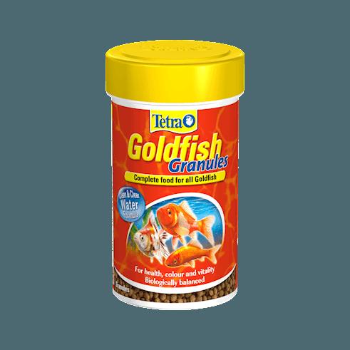 Tetra Goldfish Granules 80g 250ml Rebel Pets