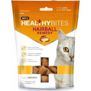 Healthy Bites - Hairball Remedy Cat & Kitten Treats (65g)