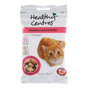 HEALTHY CENTRE SALMON BITES FOR CATS 60g