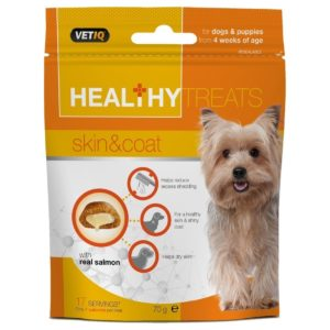 HEALTHY TREATS SKIN AND COAT DOG 70G
