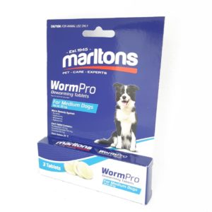 Marltons Wormpro Medium Dogs 11 - 30kg