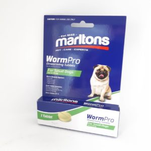 Marltons Wormpro Small Dogs 0.5 - 10kg