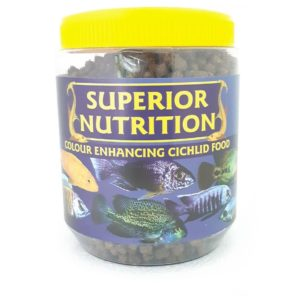 SUPERIOR NUTRITION CICHLID COLOUR ENHANCING 350G Large