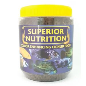 SUPERIOR NUTRITION CICHLID COLOUR ENHANCING 350G SMALL