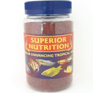 SUPERIOR NUTRITION COLOUR ENHANCING TROPICAL FISH FOOD 200g