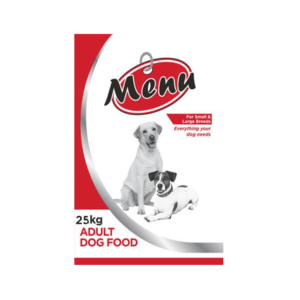 Menu Dog Food 25kg