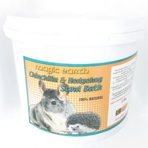 MAGIC EARTH Chinchilla & Hedgegog Sand Bath 2.5kg