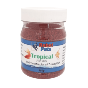 Rebel Pets Tropical Fish Bits - 250ml