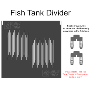 Fish Tank Divider for 2ft Tank