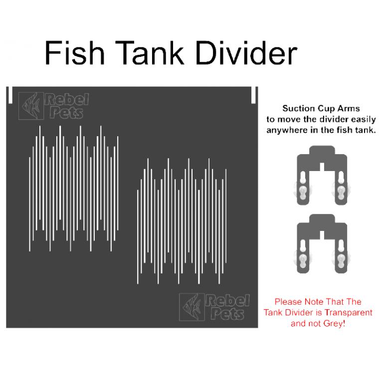 Fish Tank Divider for 2ft Tank