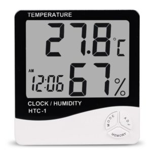 LCD Digital Thermometer Hygrometer Indoor Electronic Humidity Monitor