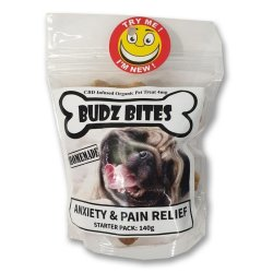 Budz Bites Anxiety & Pain Relief Starter Pack 140G