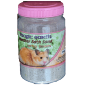 H3054 Hamster Bath Sand Sprg Flowers at Rebel Pets