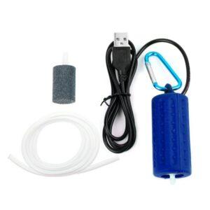 Portable Mini USB Air Pump - Blue