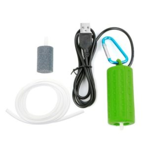 Portable Mini USB Air Pump Green