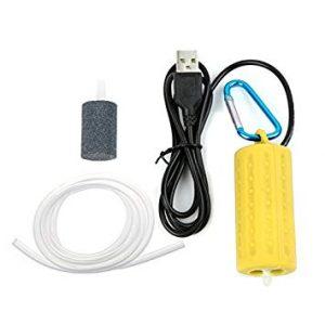 Mini USB Air Pump Yellow
