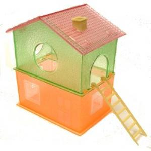 Hamster House Double - Flourescent