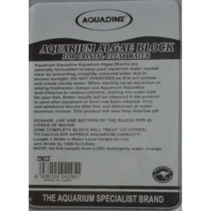 AAB0071 Algae Block Label at Rebel Pets