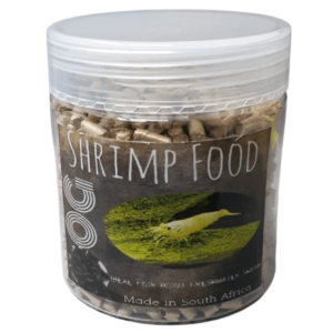OG Shrimp Snowflake Food 125g Front at Rebel Pets