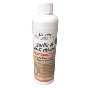 A3195 Garlic VitC Shield 250ml at Rebel Pets