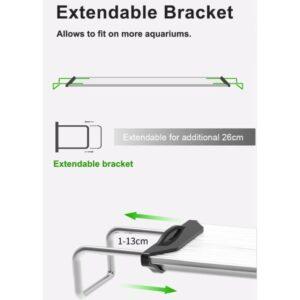 Zetlight ZP4000 Extendable Bracket at Rebel Pets