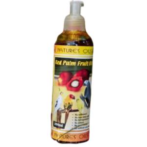 B2079 Red Palm Fruit Oil Bottle at Rebel Pets