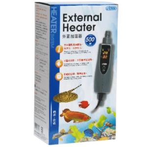 External Inline Heater 500w at Rebel Pets