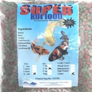 HMKC0029 Super Koi Colour 9mm Pellet 2Kg at Rebel Pets